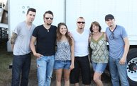 Backstage at Fond Du Lac Fair with Theory of a Deadman 13