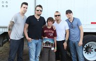 Backstage at Fond Du Lac Fair with Theory of a Deadman 11