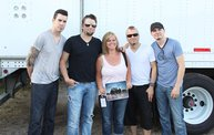 Backstage at Fond Du Lac Fair with Theory of a Deadman 10