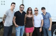 Backstage at Fond Du Lac Fair with Theory of a Deadman 9
