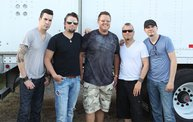 Backstage at Fond Du Lac Fair with Theory of a Deadman 8