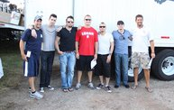 Backstage at Fond Du Lac Fair with Theory of a Deadman 7