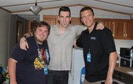Backstage at Fond Du Lac Fair with Theory of a Deadman 1