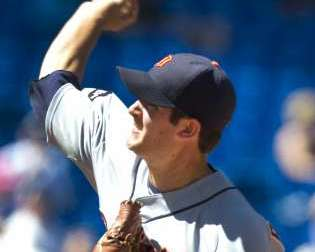 Detroit Tigers RHP Rick Porcello REUTERS/Fred Thornhill