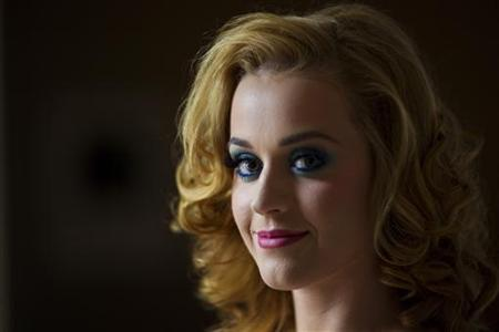 Katy Perry poses for a portrait in New York