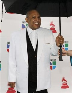Colombian musician Arroyo arrives for 9th Latin Grammy Awards in Houston, Texas