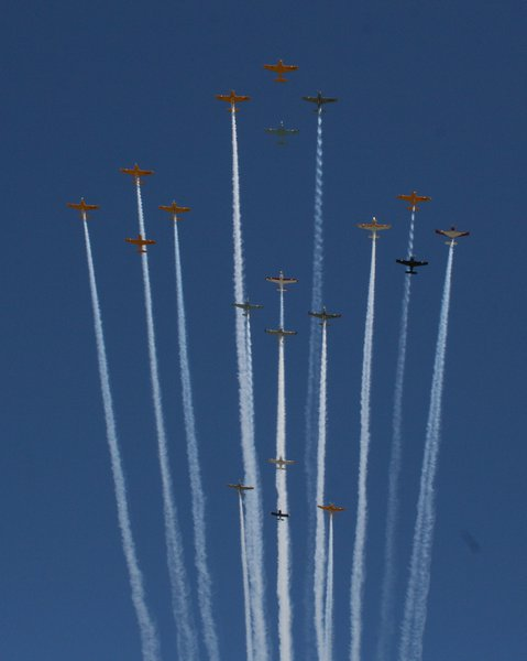 "EAA AirVenture in Oshkosh is ""The World's Greatest Aviation Celebration""."