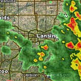 Severe weather potential with heavy rain approaches the Lansing and Mid-Michigan region this morning.