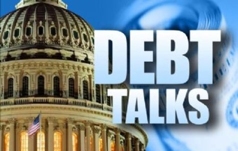 Debt talks graphic