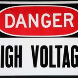 High voltage electrcution
