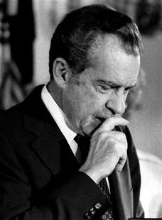 Former U.S. President Richard M. Nixon