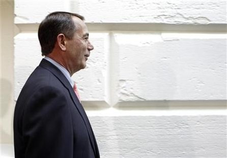 U.S. House Speaker John Boehner arrives at GOP conference meeting in Washington