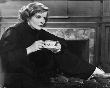 "Actress Katherine Hepburn is shown in a scene from the 1933 film ""Christopher Strong."""