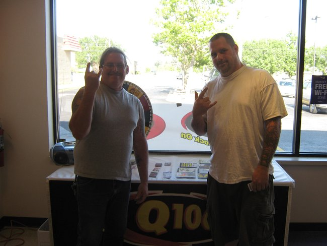Q106 spent some time with our friends at MetroPCS!  Rock On and thanks for stopping by!