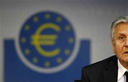 President of the European Central Bank answers questions during his monthly news conference at the ECB headquarters in Frankfurt