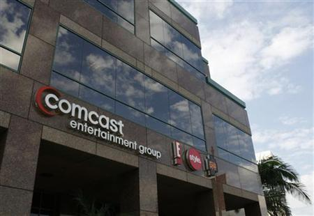 The offices and studios of Comcast Entertainment Group which operates E! Entertainment Television, the Style Network and G4 network are pict