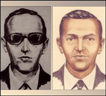 FBI sketch of accused skyjacker D.B. Cooper
