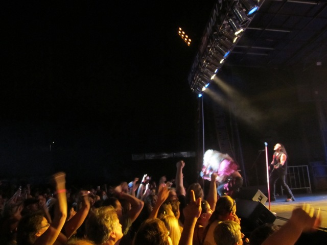 Poison, AC/DC, Prince, Kiss, Guns N' Roses, they played them all! Here are photos from Hairball's first appearance in Sheboygan at Brat Days 2011. (08.06.11)