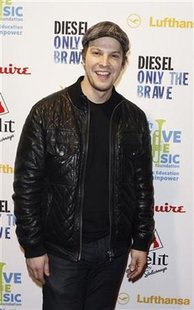 Singer Gavin DeGraw arrives for an Esquire and VH1 Save The Music Foundation benefit in New York