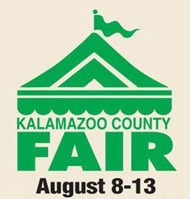 Kalamazoo County Fair logo.