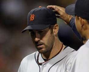 Detroit Tigers RHP Justin Verlander REUTERS/Frank Polich