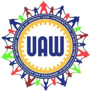 UAW logo (Reuters)