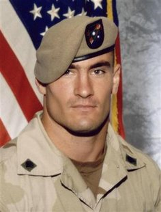 File photo of former NFL star and U.S. Soldier Pat Tillman