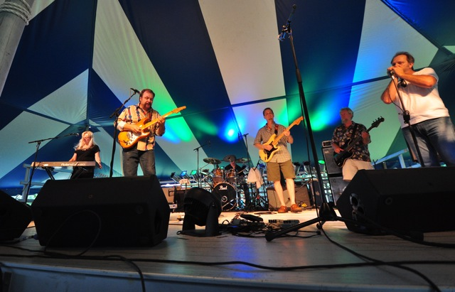It's the Delta Jets at Blues Fest at Fern Island in Wausau on August 19, 2011.  Photo by Dave Kallaway.