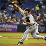 Detroit Tigers pitcher Verlander delivers to the Tampa Bay Rays during Major League Baseball game in St. Petersburg
