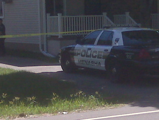 Menasha police investigating incident on Sunday August 21, 2011 (courtesy of FOX 11).