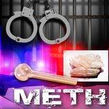 Meth arrest