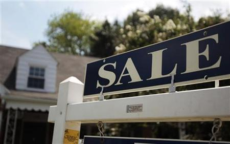 A sale sign advertises a home in Alexandria, Virginia
