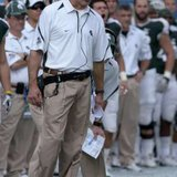 Michigan State Spartans' head coach Mark Dantonio  REUTERS