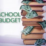 School budget graphic