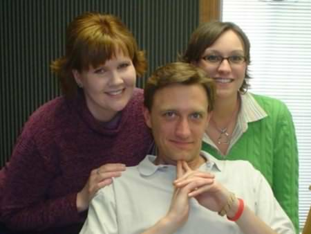 Lee Peek, Kristen Murphy and Nikki Montgomery The Great Country Morning Show 2005