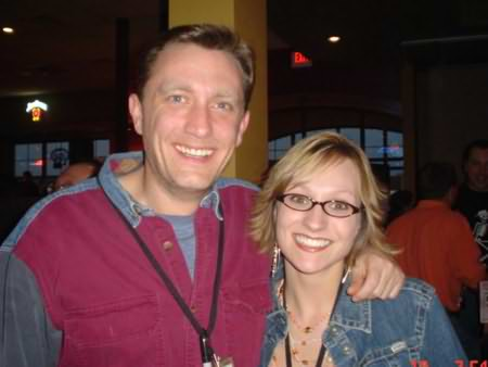 Lee Peek and Nikki Montgomery at the Brian McComas show at The Bar in 2006