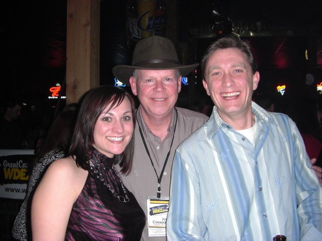Lee Peek, Nikki Montgomery and Joe Cassady 2010