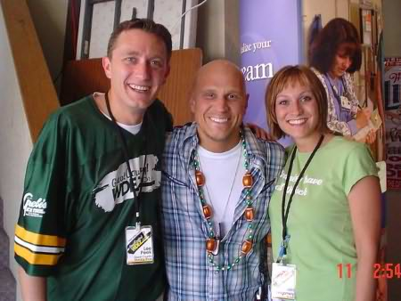 Lee Peek and Nikki Montgomery with Kevin Sharp 2005