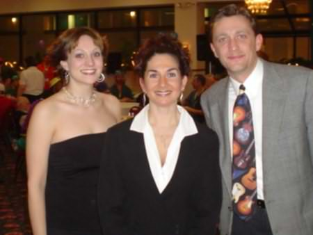 Lee Peek and Nikki Montgomery with Kelly from the Special Olympics Wisconsin 2005