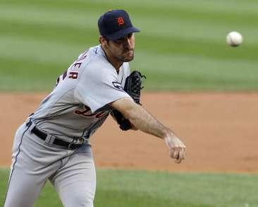 Detroit Tigers RHP Justin Verlander. REUTERS/Frank Polich