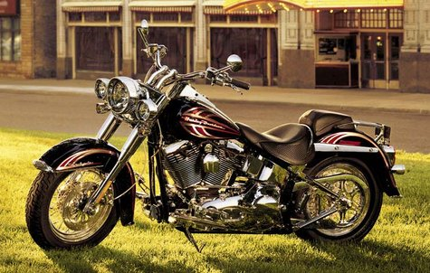 A Harley-Davidson Motorcycle