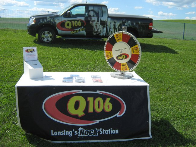 Q106 was on hand before the Whitesnake and Tesla gig!  Rock On!