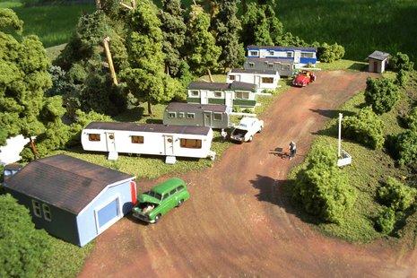 A mobile home park
