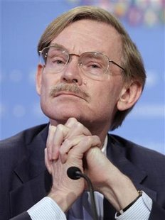 World Bank President Zoellick holds a news conference in Washington