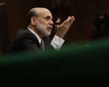 U.S. Federal Reserve Chairman Ben Bernanke. REUTERS/Jason Reed