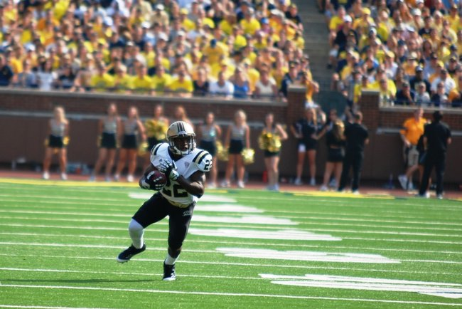Shots from the Western Michigan-Michigan game, Sept 3, 2011.  The game was called short after 3 quarters due to storms, giving Michigan a 34-10 win.  Photos by Sean Patrick Duross.