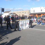 The Wausau Firefighter's Union marches in the 2011 Labor Day Parade in Wausau