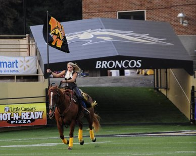 WMU Fans Vote For Name Of Horse - 28.9KB