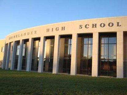 Rhinelander High School in Rhinelander, WI