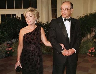 GREENSPAN AND MITCHELL AT STATE DINNER